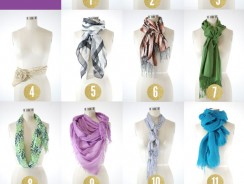 15 Chic and Creative Ways to Tie Scarves You Should Know