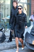 Kim Kardashian's 2015 New Look – a Mini Skirt and a Towering Heels