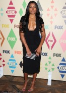 Taraji P. Henson Leaves Little to the Imagination in Plunging Little Black Dress