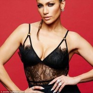 Jennifer Lopez Puts Her Cleavage on Display on Instagam