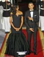 Michelle Obama Wore The Most Prettiest Gown At The State Dinner For Chinese President