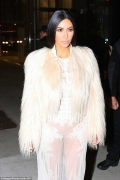 Kim kardashian Wore The Naked Dress No One Saw Coming