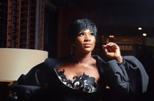 Stephanie Okereke Brought Her Queenship To Glitz Style Awards In A Futuristic Dress