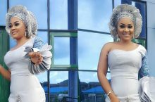 Mercy Aigbe Wears The Dress Of Your Dreams