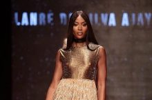 Supermodel Naomi Campbell Just The Walked The Runway At Arise Fashion Week In Lagos