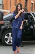 Selena Gomez Actually Wore Pajamas Out in Paris…And Is Chic