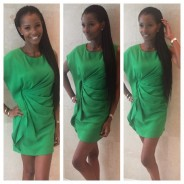 It's a Green Monday with Agbani Darego