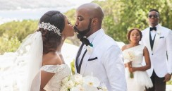 Adesua Etomi's Wedding Dress Is Gorgeous But Her Reception Gowns Are Clearly The Most Impressive