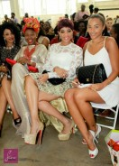 African Fashion Week London: Adaeze Yobo, Funmi Iyanda, Ade Bakare & Others Spotted