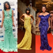 11 Red Carpet Dresses African Celebs Wore in 2015 We Still Can't Stop Dreaming About