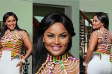 Every Kente Lover Will Go Nuts About Actress Ama McBrown's Kente Style