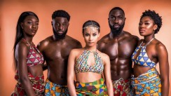This Ankara Swimwear Campaign Is So Adorable