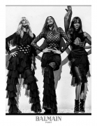 Balmain Spring 2016 Ad Campaign Is All About 90s Supermodels
