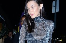 Bella Hadid Started 2016 In A Naked Dress And Ended In Naked Dress