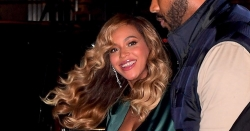 Beyonce Knew She Was Taking A Risk Wearing This High Split Gown