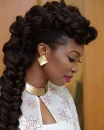 How To Get This Head Turning Braided Hawk Hairstyle In 8mins