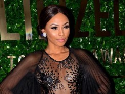 Bonang Matheba's Latest Red Carpet Look Was All About Showing Some Skin