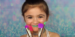 This 5-Year-Old Giving A Unicorn Makeup Tutorial Will Light Up Your Day