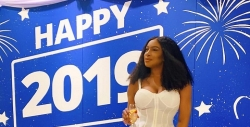 Chika Ike Celebrated Her New Year In A Clingy Mustard Dress In Thailand