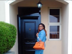 Chika Ike Is Already Wearing This 70's Trend And It's Adorable