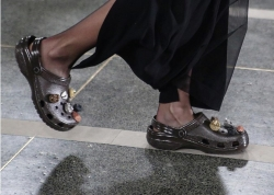 This Designer Just Gave Crocs Shoes A Major Makeover At London Fashion Week