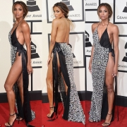 Ciara Leave Little To The Imagination In A Slinky Dress At The 2016 Grammys