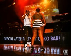 View Photos Of Hopeless Fans Exposing Her Private Thing at CokoBar Concert With Flavour