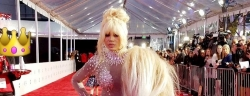 Dencia Stepped Into The AMAS Red Carpet In Her Typical Outfit