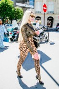 See the Major Statement Outfit Dencia Wore In Paris