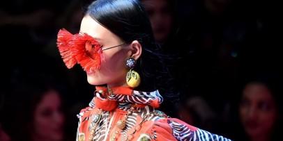 A Glimpse At Dolce & Gabbana Spring 2018 Collection At Milan Fashion Week