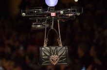 Dolce & Gabbana Actually Used Drones To Model Its Handbags At Milan Fashion Week