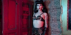 This Drag Queen Becomes The First To Be Featured In Women's Lingerie Campaign