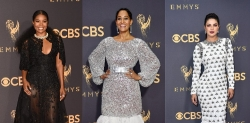 The Prettiest Red Carpet Dresses From The 2017 Emmys Award
