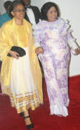 She's Hot: First Lady Stepped Out Stylishly in a Shocking Outfit (Pics)