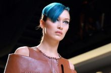 There Was A Serious Hair Transformation During Fendi Show