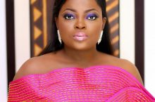 Funke Akindele's Gown Will Put You In A Festive Mode