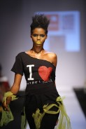 Models in Crazy Outfit at GTBank Lagos Fashion and Design Week 2014