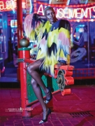 South Sudanese Model in Crazy Fashion in Archetype 02 Magazine Editorial