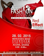 THE RED EFFECT; THE OFFICIAL LAUNCH OF THE MERCEDES BENZ AFRICAN FASHION FESTIVAL 2015