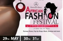THE WORLD TO HIT ACCRA FOR MERCEDES BENZ FASHION WEEK MAY 2015