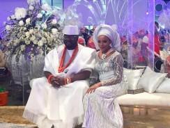 See the Aso Ebi Celebs & Others Wore to Dolapo Oni & Gbite Sijuwade's Trad Wedding