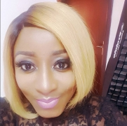 Ini Edo Goes Platinum Blonde For Her Birthday