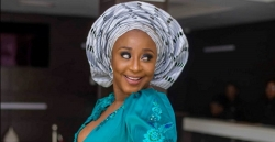 Ini Edo Stole The Spotlight In This Cleavage-Baring Wedding Guest Dress
