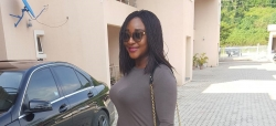 Ini Edo Opts For Comfort In Her Weekend Outfit