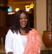 Jackie Appiah Shows Her Own Chic Way To Wear All-White
