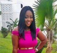 This Is How Jackie Appiah Do Wedding-Guest Dressing