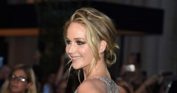 Jennifer Lawrence Walked The Red Carpet In A Cobweb Naked Dress