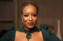 Joselyn Dumas' Dress To 2018 Africa Movie Academy Awards Will Hold Your Attention