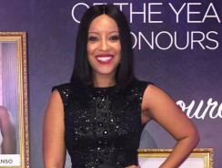 Joselyn Dumas Wore The Most Gorgeous Black Dress We've Ever Seen
