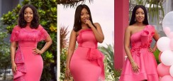 Joselyn Dumas Has Been Wearing Only Pink Dresses And You Don't Even Notice